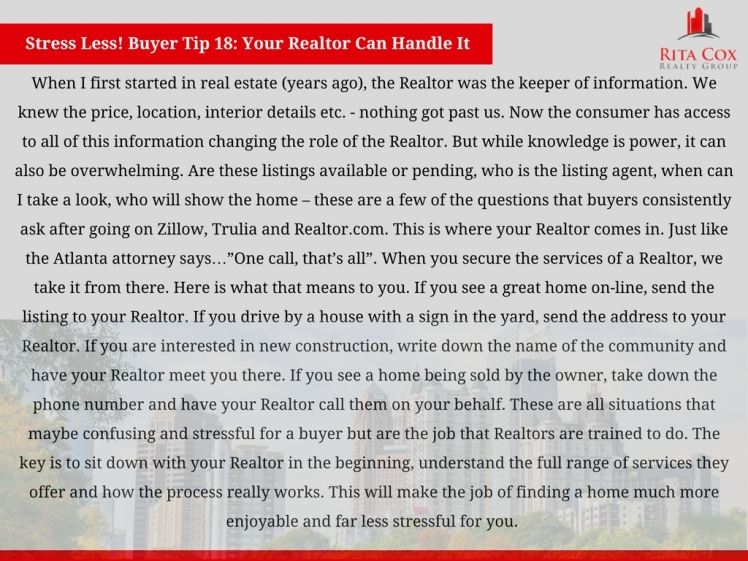 Stress_less_buyer_tip_18_rita_cox_realty_group_keller_williams_real_estate