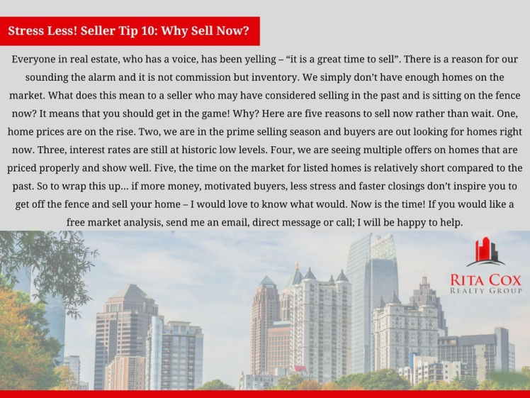 Stress_less_seller_tip_10_rita_cox_realty_group_keller_williams_real_estate